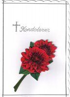 Rød Rose - Grønt Blad