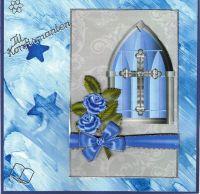 Kors i Vindu (Blå)